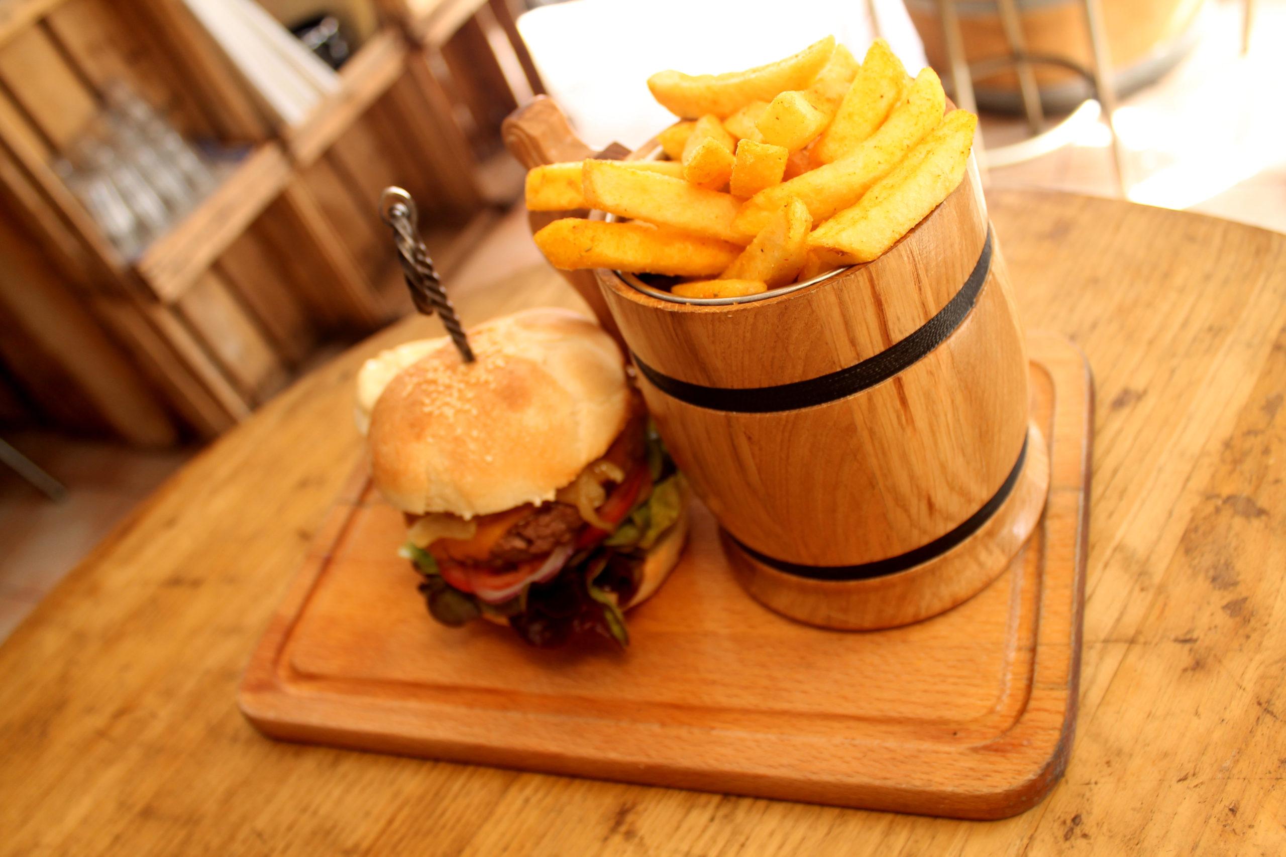 Menu Burger 2 - Prise par Nob Guérin