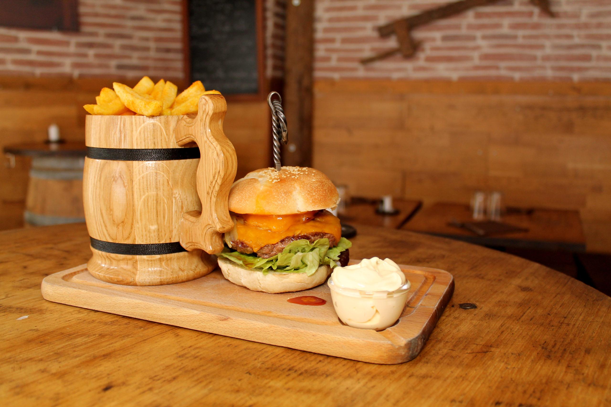 Menu Burger - Prise par Nob Guérin