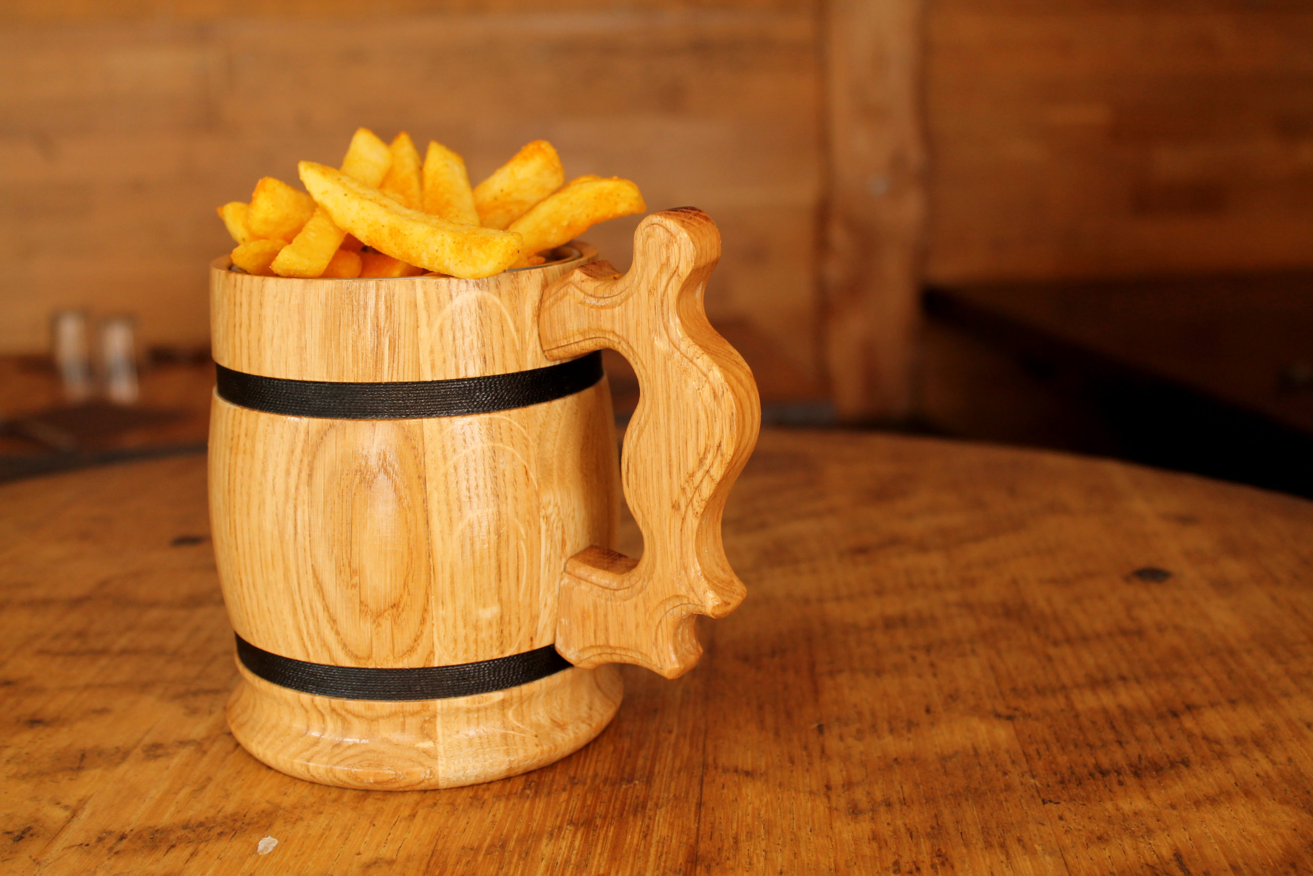 Chope à frites - Prise par Nob Guérin
