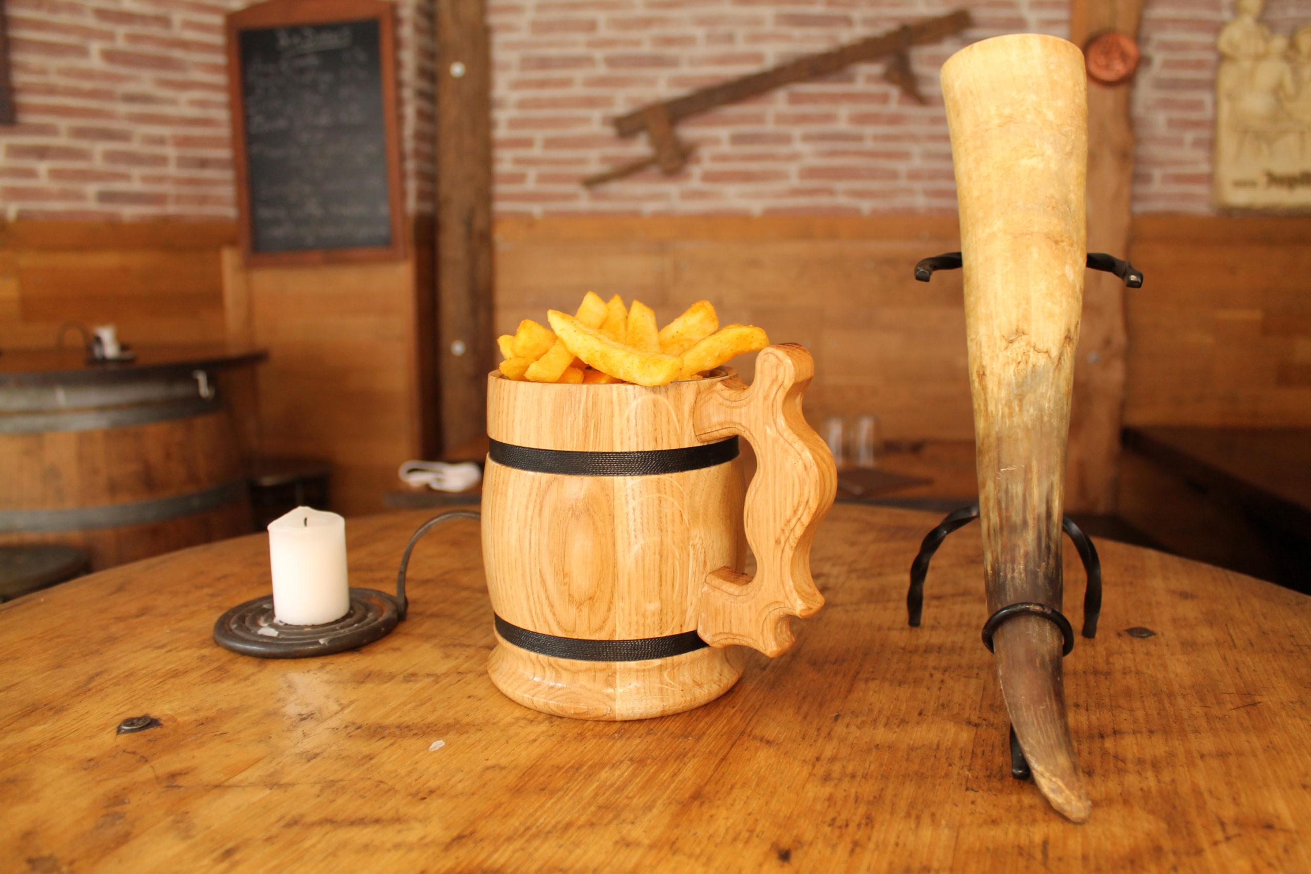 Chope à frites & Corne à bière - Prise par Nob Guérin